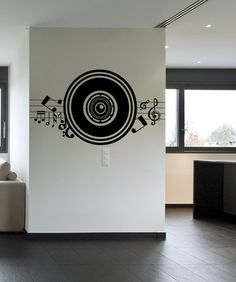 Vinyl Wall Decal Sticker Music Speaker #1140 | Stickerbrand wall art decals, wall graphics and wall murals.
