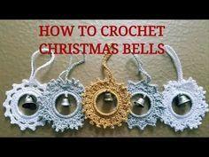 FREE CROCHET TUTORIAL! Learn to crochet Christmas bells!