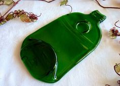 Slumped bottle spoonrest or cheese plate $16.00