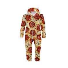Pizza Kid's Belovesie Hooded Jumpsuit