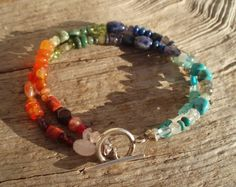 Spice of Life Bracelet - turquoise, peridot, ruby, emerald, tanzanite, moonstone, aquamarine, and more