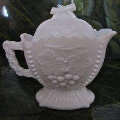 Westmoreland Glass Company | Vintage Westmoreland Milk glass Cherry & by TheOldVintageShoppe
