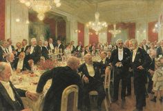 Leaving the Table - 1906 - Laurits Tuxen
