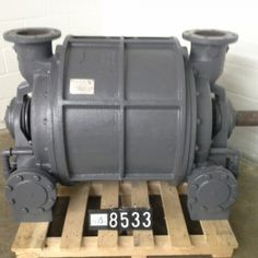 At Peak Machinery new range of cladded Nash #vacuum_pump size / model CL 2002 available which is Manufactured by Nash.