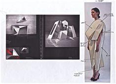 Fashion Sketchbook - the development of a design; fashion student portfolio // toma stenko, CSM