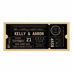 40 Ticket Designs That Will Inspire You – Maps from everywhere Ticket Invitation, Invitation Design, Invitation Cards, Wedding Invitations, Invites, Pop Art Design, Tag Design, Paper Design, Gold Ticket