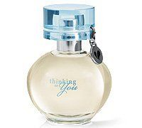 Mary Kay® Thinking of You Eau De Parfum by mary kay. $19.99. The message in this bottle is all about relationships and celebrating them with a gift that turns a moment into a memory. This feel-good fruity floriental fragrance also features a keepsake heart charm that can be removed and added to jewelry and unique packaging that allows you to handwrite a note inside.