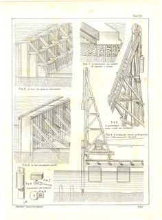 Technical Drawing Drafting Engineering By CarambasVintage On Etsy, $16.00