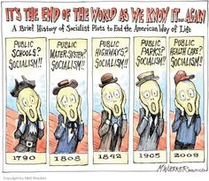 Every Progressive Reform Since the Abolition of Slavery Has Been Called 'Socialism' http://www.alternet.org/economy/every-treasured-progressive-reform-abolition-slavery-has-been-called-socialism | 11/17