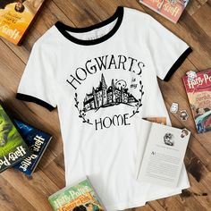 Hogwarts will always be there to welcome you home | Harry Potter Hogwarts Is My Home Tee