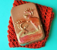 Goats Milk Soap Gift Set  Elk Shaped Soap with by LostRiverRags