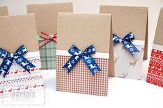 DIY Christmas card Christmas Calendar, Diy Christmas Cards, Christmas Fun, Holiday Crafts, Xmas, Diy Ideas, Craft Ideas, Cards Diy, Homemade Cards