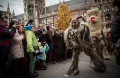 A centuries-old Christmas tradition called the Krampus Run returns to Bavaria where monsters roam the streets in search of bad children.