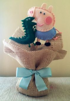 Peppa Pig Y George, George Pig Party, Picnic Birthday, Pig Birthday, Aniversario Peppa Pig, Cumple Peppa Pig, Pig Crafts, Barbie, Baby Party