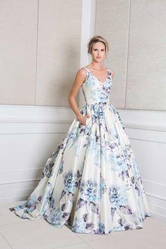 Floral Wedding Gowns. | Elly Hartley Designs