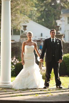Madeleine's Daughter Blog, Marissa Bridal Gown, Wedding Gown, Real Bride, Real Wedding, Strapless Mermaid