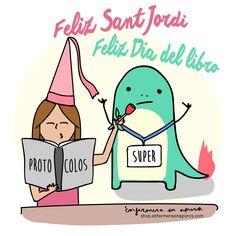 ¡Feliz Sant Jordi / Día del libro a lo enfermero!