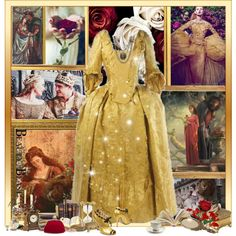 Beauty And The Beast by kerry6590 on Polyvore featuring Zoraide, Kate Spade, Red Herring, Prouna, Shabby Chic, Disney and Hourglass Cosmetics