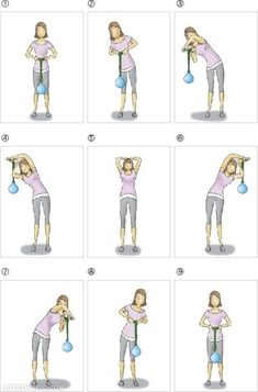 1000 Images About Shoulder Pain Relief Exercises On