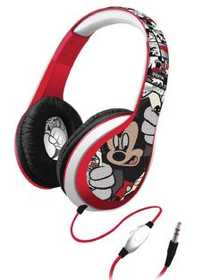 Mickey Mouse Over-the-Ear Headphones (Di-M40MY)