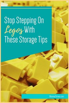Ideas For Lego Storage and Organization - Ideas and Organization Hacks For Legos - How To Store Legos Small Space Organization, Home Organization Hacks, Organization Ideas, Lego Table With Storage, Lego Storage, Organizing Clutter, Step On A Lego, Activity Board, Building For Kids