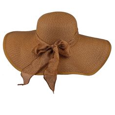 Lux Accessories Women's Big Floppy Summer Beach Sun Hat ^^ You can get more details here : Best Travel accessories for women