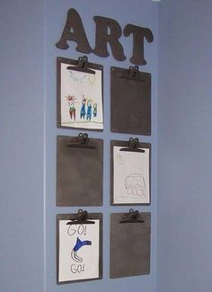 Great idea for kids who never stop drawing pictures