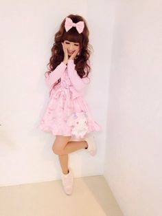 Gyaru Fashion, Kawaii Fashion, Lolita Fashion, Cute Fashion, Princess Girl, Princess Style, Princess Fashion, Popteen, Kawaii Hairstyles