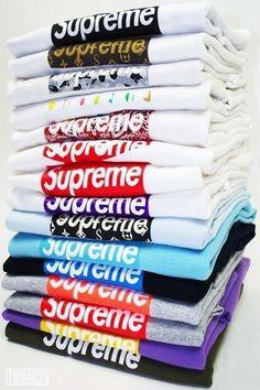 supreme shirt for every day Supreme Shirt, Supreme Bape, Supreme Hypebeast, Teen Boy Fashion, Mens Fashion, Fashion Boots, Estilo Hip Hop, Supreme Clothing, Supreme Wallpaper