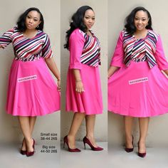Latest African Fashion Dresses, African Print Dresses, African Dress, Big Girl Fashion, Womens Fashion, Men Pants, Church Dresses, Maid Dress, Two Piece Dress