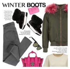 """""""So Cozy: Winter Boots"""" by italist ❤ liked on Polyvore featuring 3.1 Phillip Lim, Mr & Mrs Italy, STELLA McCARTNEY, Cheap Monday, Kenzo, Michael Kors and Givenchy"""