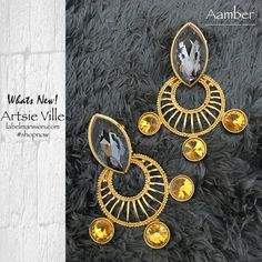 Looking for statement jewels!? What better than Artsie Ville! Now shop at: http://www.labelmansion.com/labels/view-jewellery-designers-2/artsie-ville.html #labelmansion #whatsnew #jewllery #statment #earrrings #art #love #india #women #fashion #shoponline #shopindia #mondays #new