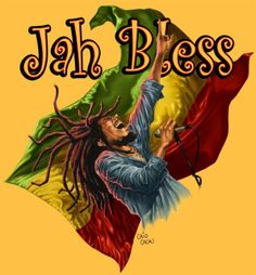 I like this because of the bright colours and the fact it has been done as a cartoon. It contains stereotypical images of Jamaica (the flag, Bob Marley, Jah) Bob Marley Art, Reggae Bob Marley, Jah Rastafari, Rastafari Quotes, Rasta Art, Reggae Music Videos, Ps Wallpaper, Damian Marley, Reggae Artists