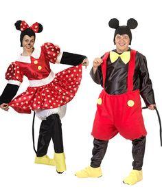 Disfraces de Mickey y Minnie