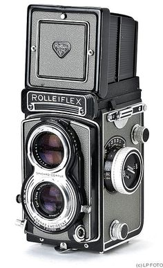 "This was my first serious camera. It has almost no monitory value today, but what a great camera!   Rolleiflex T is a series of medium format film TLR cameras manufactured by Franke & Heidecke, Braunschweig, Germany, and produced between 1958-76. The ""T"" designation does not come from the famous lenses Tessar, but simply from the first name of its creator: Théodore Uhl."