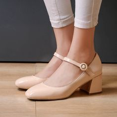 Chiko Margo Block Heel Mary-Jane Pumps