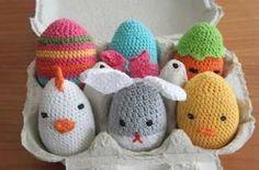 Uova di Pasqua uncinetto