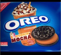 OREO Dunkin Donuts Mocha Coffee ...July 2017