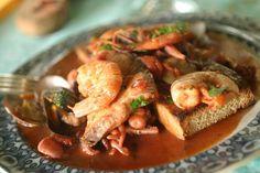 Итальянский рыбный суп «Каччукко» («Cacciucco») – традиционный итальянский суп…