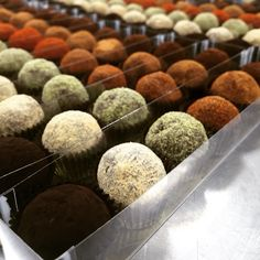 *new Longevity Truffle collection! Made with 72% dark chocolate and organic coconut oil! Vegan and gluten free