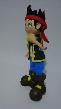 Jake y Los Piratas de Nunca Jamás!!!! Versión Fofucho Míralo que guaposo!!!
