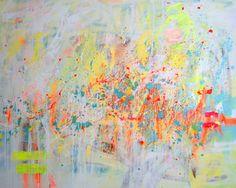 """Saatchi Art Artist Marta Zawadzka; Painting, """"floating in a dream"""" #art"""
