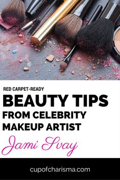 Beauty Tips From Celebrity Makeup Artist Jami Svay. Get these red carpet and formal beauty tips for a celebrity stylist. Beauty Tips From Celebrity Makeup Artist Jami Svay. Get these red carpet and formal beauty tips for a celebrity stylist. Beauty Tips For Face, Beauty Secrets, Beauty Skin, Beauty Makeup, Beauty Hacks, Eyeshadow Tips, Celebrity Makeup, Makeup Designs, Makeup Tools