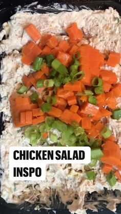 Lunch Recipes, Mexican Food Recipes, Cooking Recipes, Healthy Recipes, Chicken Salad Recipes, Chicken Nachos, Recipe Chicken, Good Food, Yummy Food