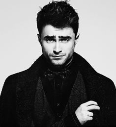 Yes Harry Potter..but he's not Harry Potter anymore..he's Daniel Radcliffe and he's grown into a very stunningly beautiful young man. No lust here, more just awe.