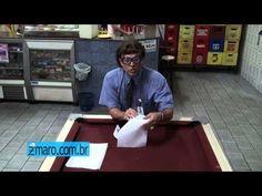 Zmaro ensina a fazer barquinhos de papel - dobradura - origami
