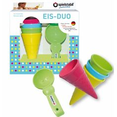 Ice Cream Cone Beach Kit Spielstabil Children- A large selection of Toys and Hobbies on Smallable, the Family Concept Store - More than 600 brands. Yummy Ice Cream, Beach Toys, Sand And Water, Water Toys, Play Spaces, Childrens Gifts, Kit, Measuring Spoons, Food Grade