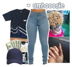 """Untitled #30"" by gmboogie ❤ liked on Polyvore featuring HUF and NIKE"