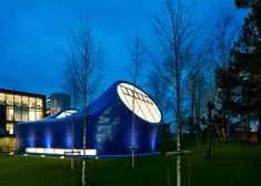 Zaha Hadid to open Arts University Bournemouth drawing studio designed by Sir Peter Cook World Architecture Festival, British Architecture, Cedric Price, Peter Cook, Thomas Heatherwick, Blue Drawings, Uk Universities, Open Art, Box Houses