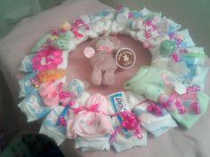 Baby Girl Wreath